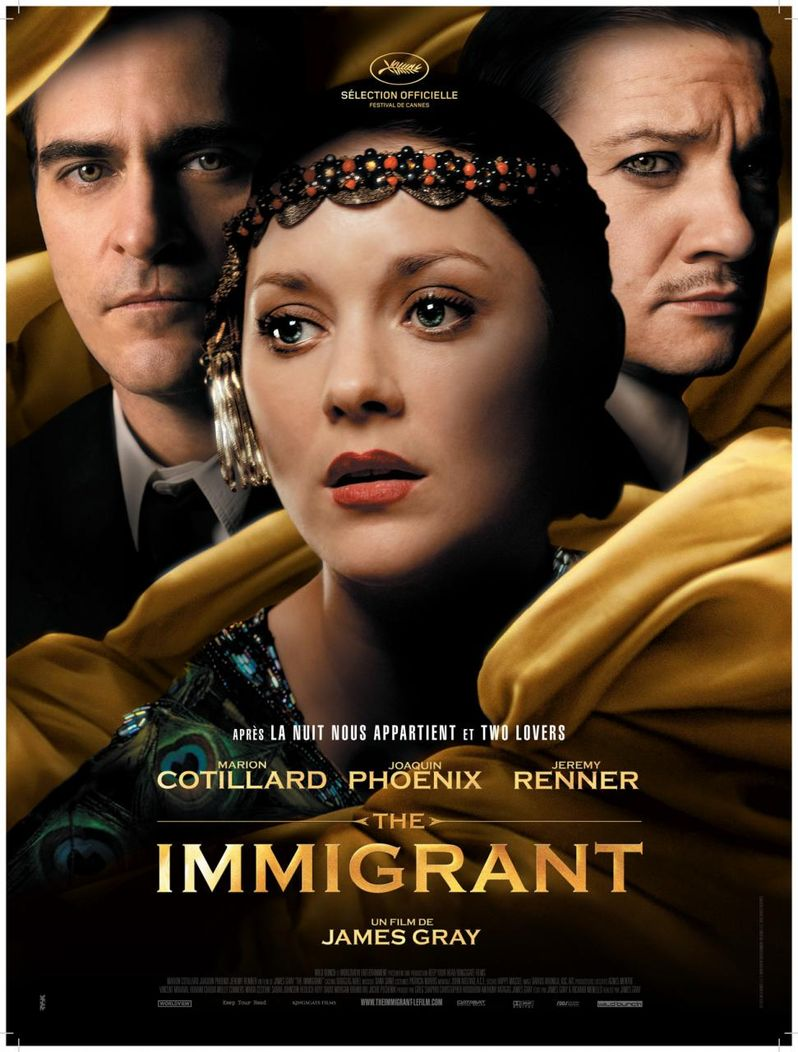 <strong><em>The Immigrant</em></strong> poster