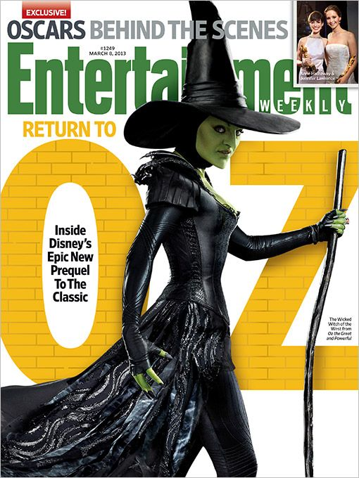 <strong><em>Oz: The Great and Powerful</em></strong> Entertainment Weekly Cover