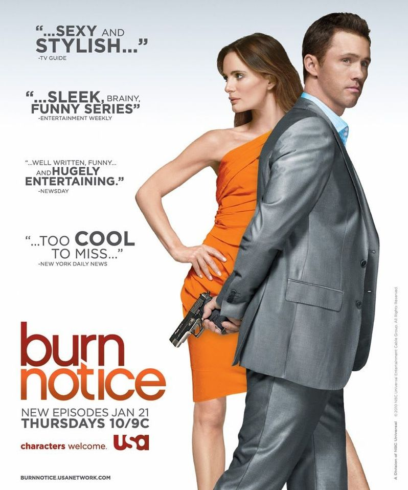 Win big prizes from <strong><em>Burn Notice</em></strong>