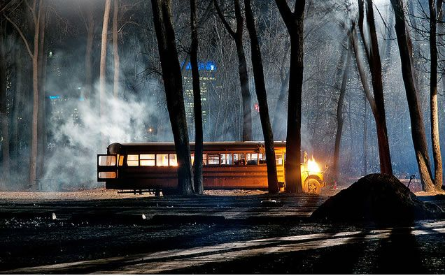 Silent Hill: Revelations 3D Amusement Park Set Photo #3