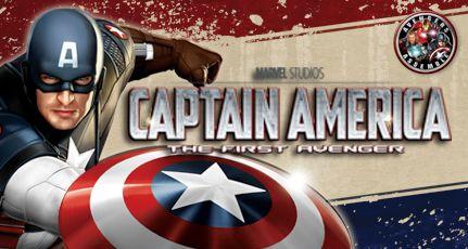 <strong><em>Captain America: The First Avenger</em></strong> Merchandise Promo