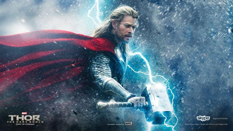 <strong><em>Thor: The Dark World</em></strong> Malekith the Accursed Skype Banner 3
