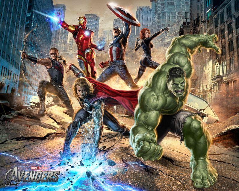 <strong><em>Marvel's The Avengers</em></strong> Wallpaper #9