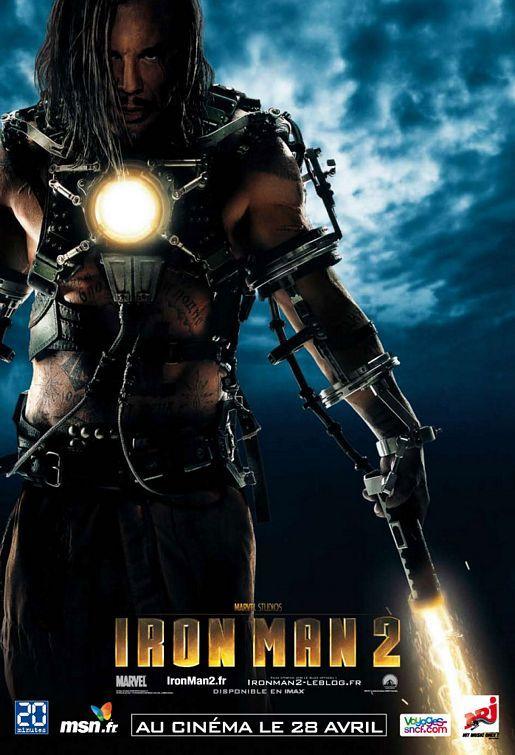 <strong><em>Iron Man 2</em></strong> Whiplash Character Poster
