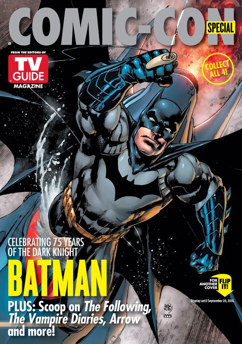 Batman TV Guide Comic Con Cover