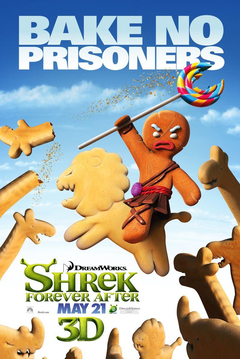 <strong><em>Shrek Forever After</em></strong> Gingerbread Man