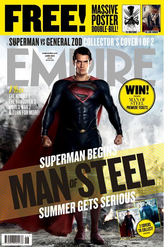 <strong><em>Man of Steel</em></strong> Empire Magazine Cover 1