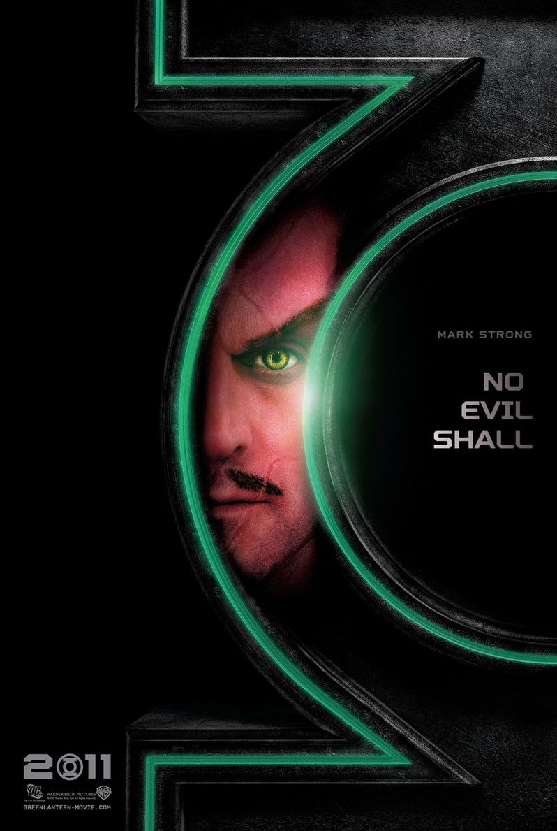 Mark Strong as Sinestro in <strong><em>Green Lantern</em></strong>