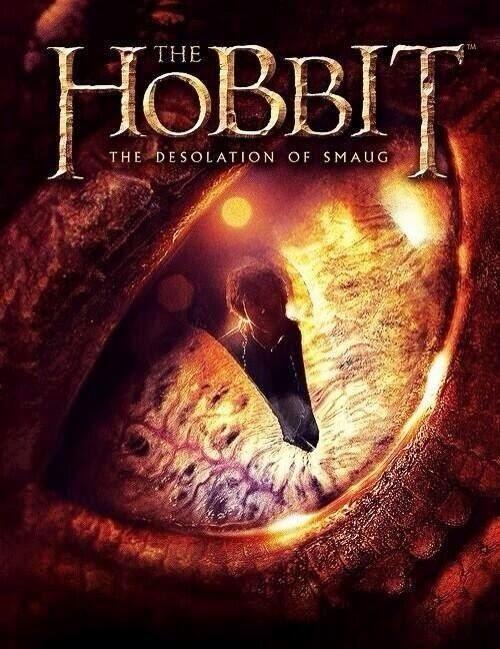 The Hobbit The Desolation of Smaug Promo Art