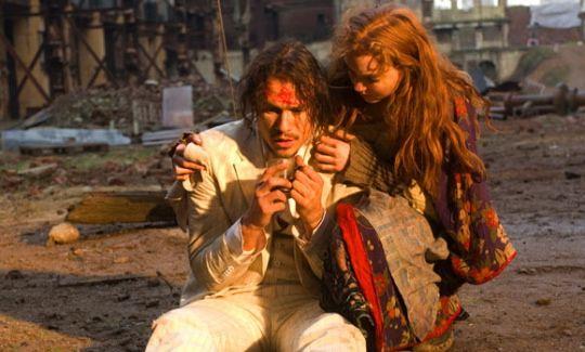 Heath Ledger in <strong><em>The Imaginarium of Doctor Parnassus</em></strong>