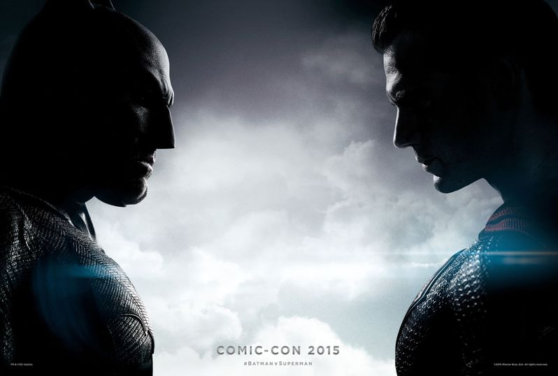 Batman V Superman Comic Con Poster