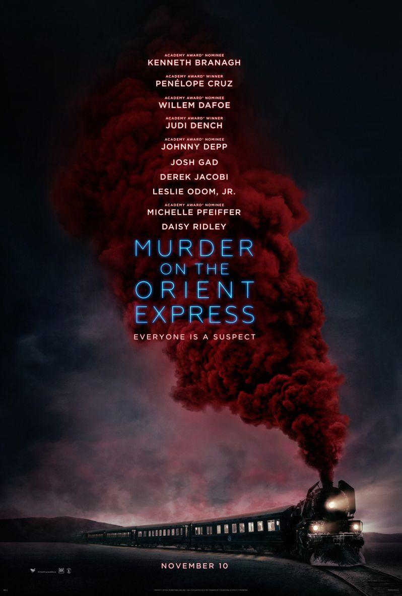 <strong><em>Murder on the Orient Express</em></strong> Poster