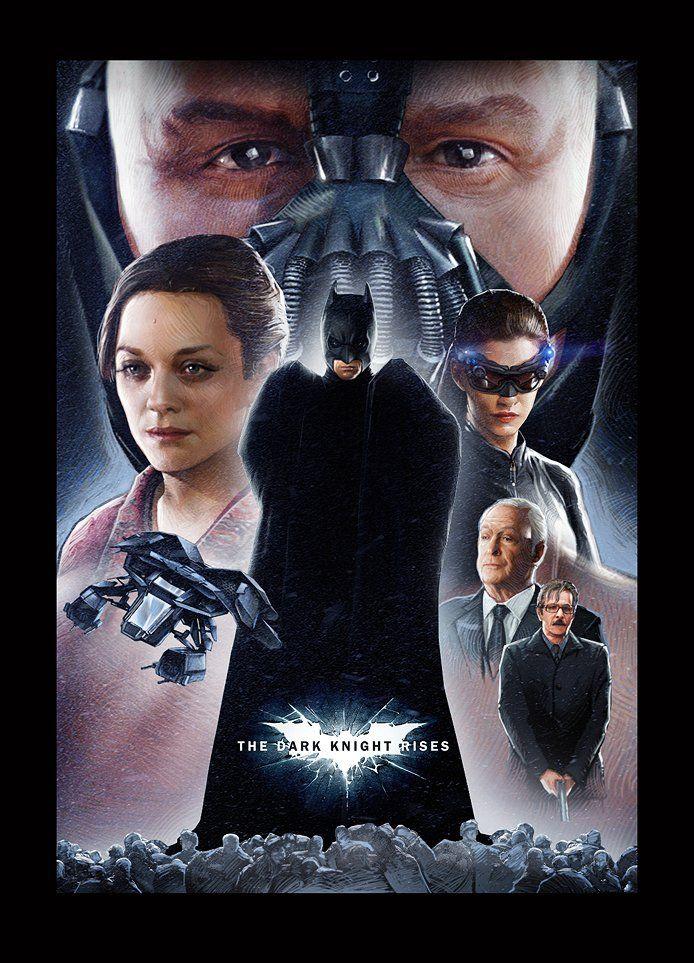 <strong><em>The Dark Knight Rises</em></strong> Fan Art