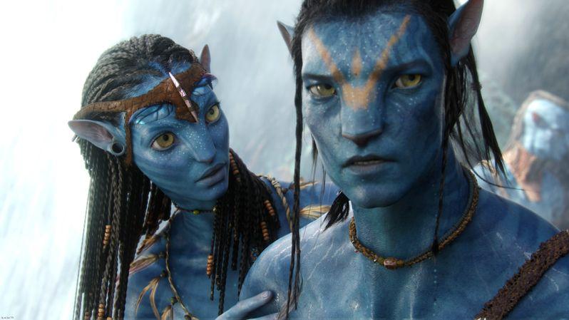 Sam Worthington in <strong><em>Avatar</em></strong>