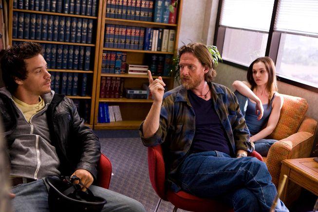 Michael Raymond-James as Britt Pollack and Donal Logue as Hank Dolworth
