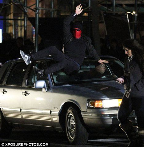 <strong><em>The Amazing Spider-Man</em></strong> NYC Set Photo #3