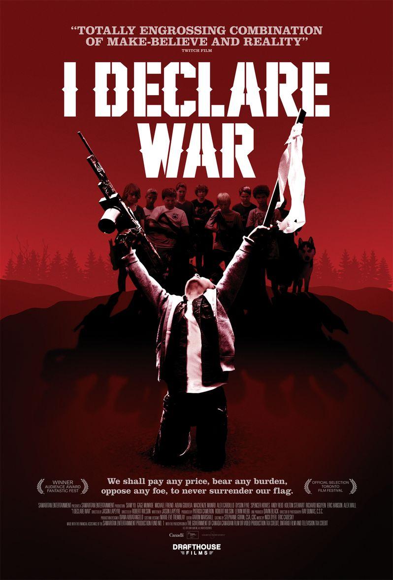 <strong><em>I Declare War</em></strong> Poster