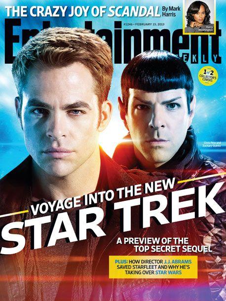 <strong><em>Star Trek Into Darkness</em></strong> EW Cover 3