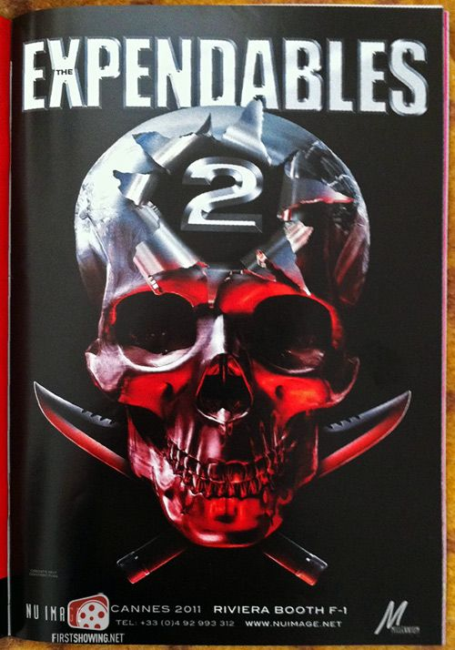The Expendables Promo Poster