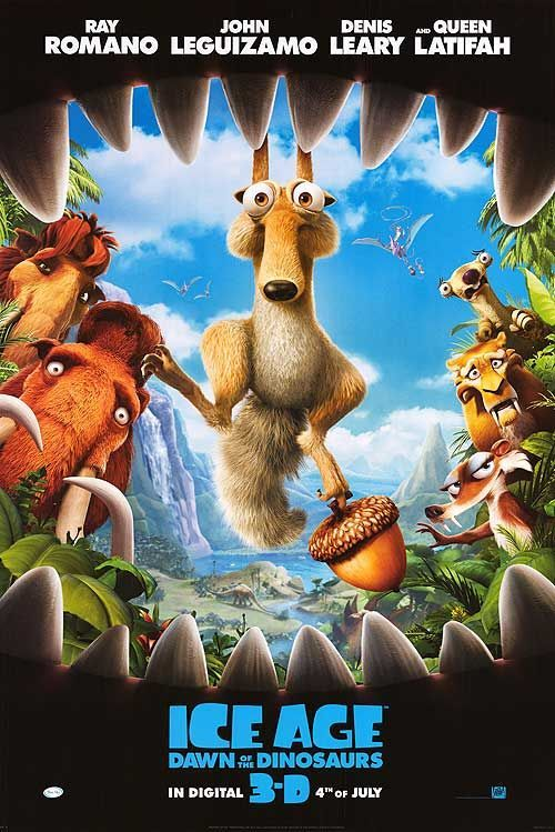 <strong><em>Ice Age: Dawn of the Dinosaurs</em></strong> Poster