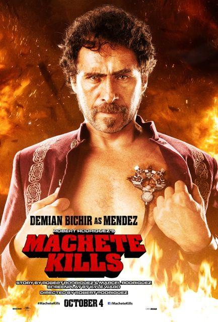 <strong><em>Machete Kills</em></strong> Demian Bichir Character Poster
