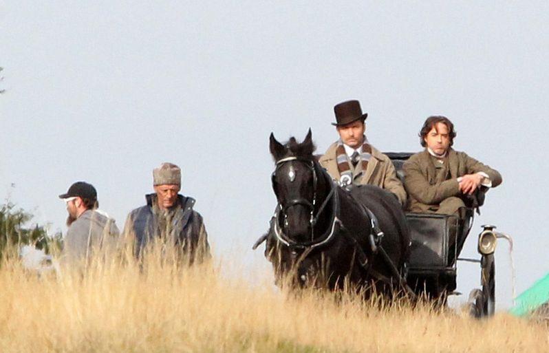 Sherlock Holmes 2 On Set photo 6