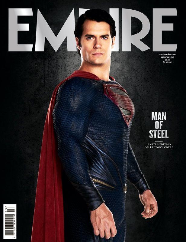 <strong><em>Man of Steel</em></strong> Cover 2