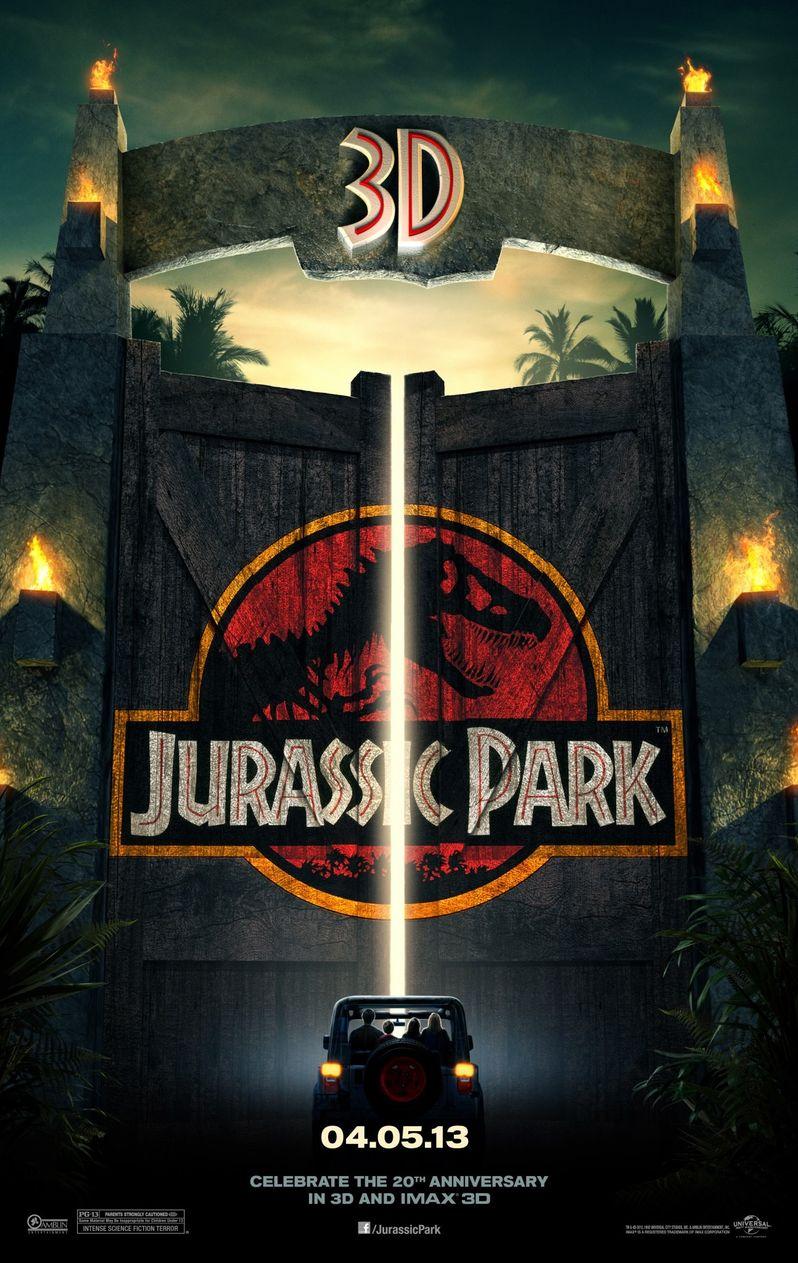 <strong><em>Jurassic Park</em></strong> 3D Poster