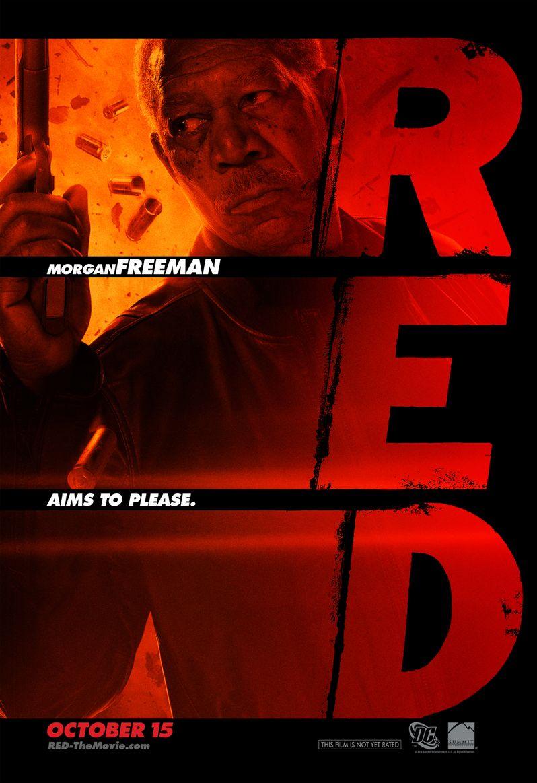 <strong><em>Red</em></strong> Character Poster Morgan Freeman