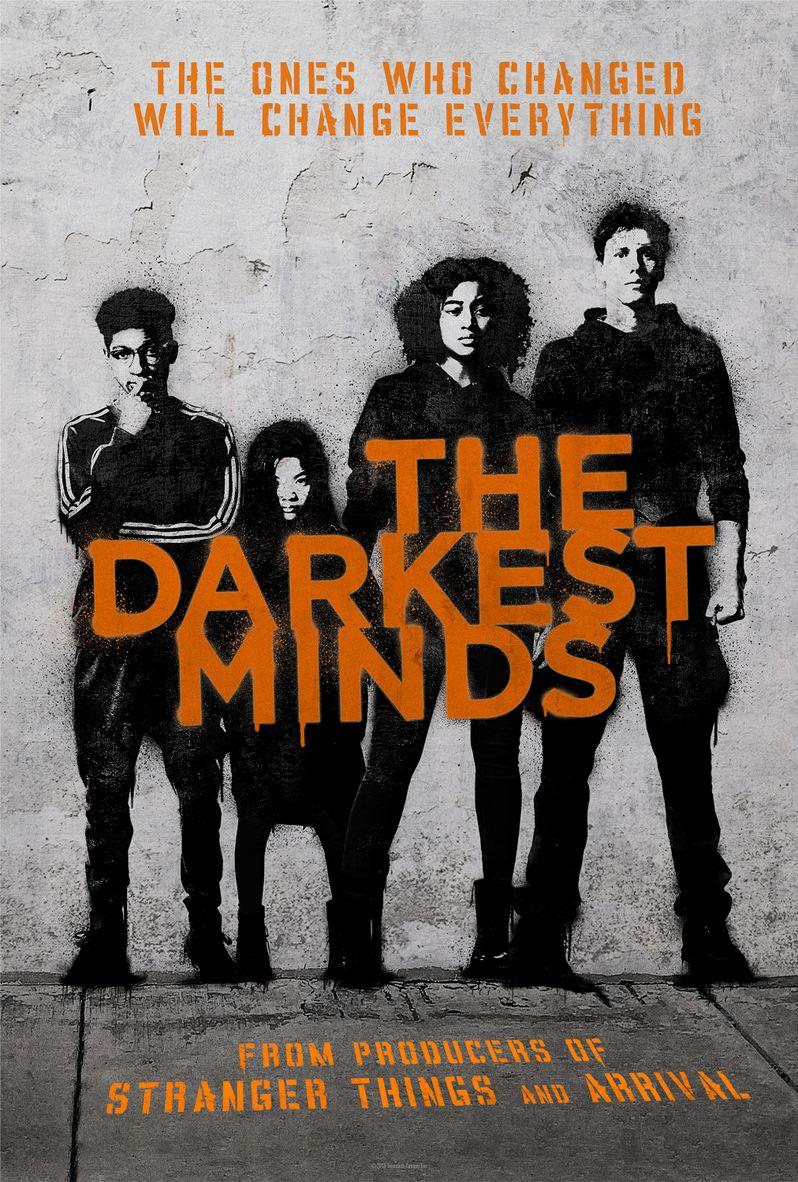 <strong><em>The Darkest Minds</em></strong> poster