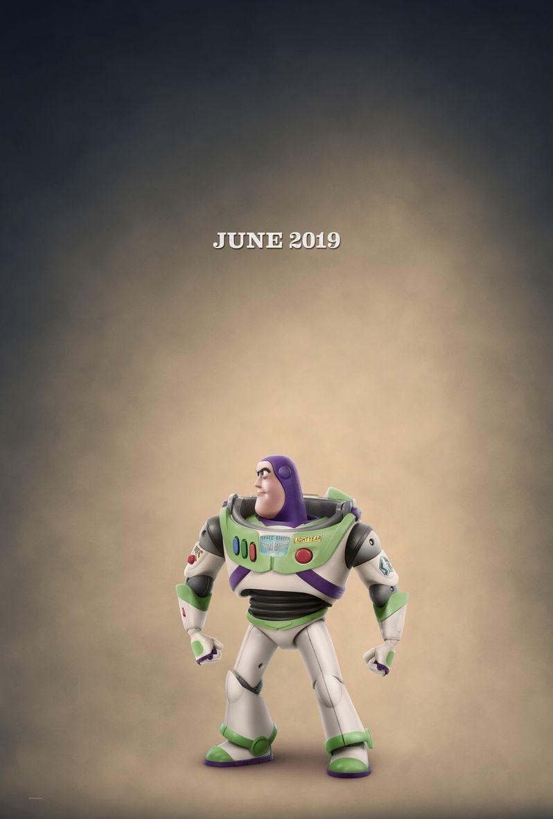 Buzz Lightyear Character Poster <strong class=