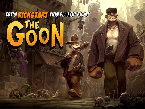 <strong><em>The Goon</em></strong> Kickstarter Poster