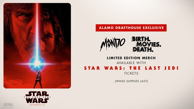 <strong><em>Star Wars: The Last Jedi</em></strong> Mondo merchandise