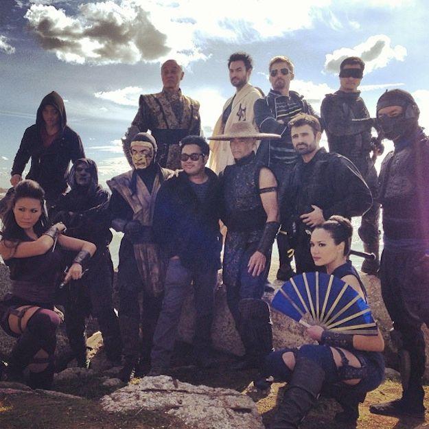 <strong><em>Mortal Kombat: Legacy</em></strong> Season 2 Cast Photo