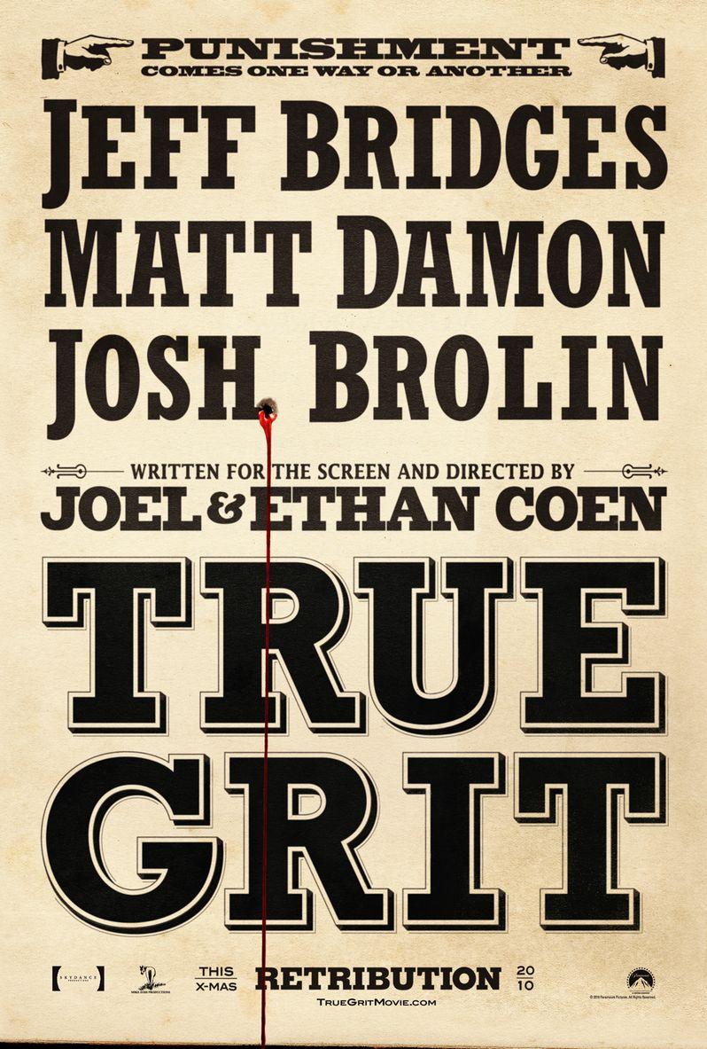 <strong><em>True Grit</em></strong> Poster