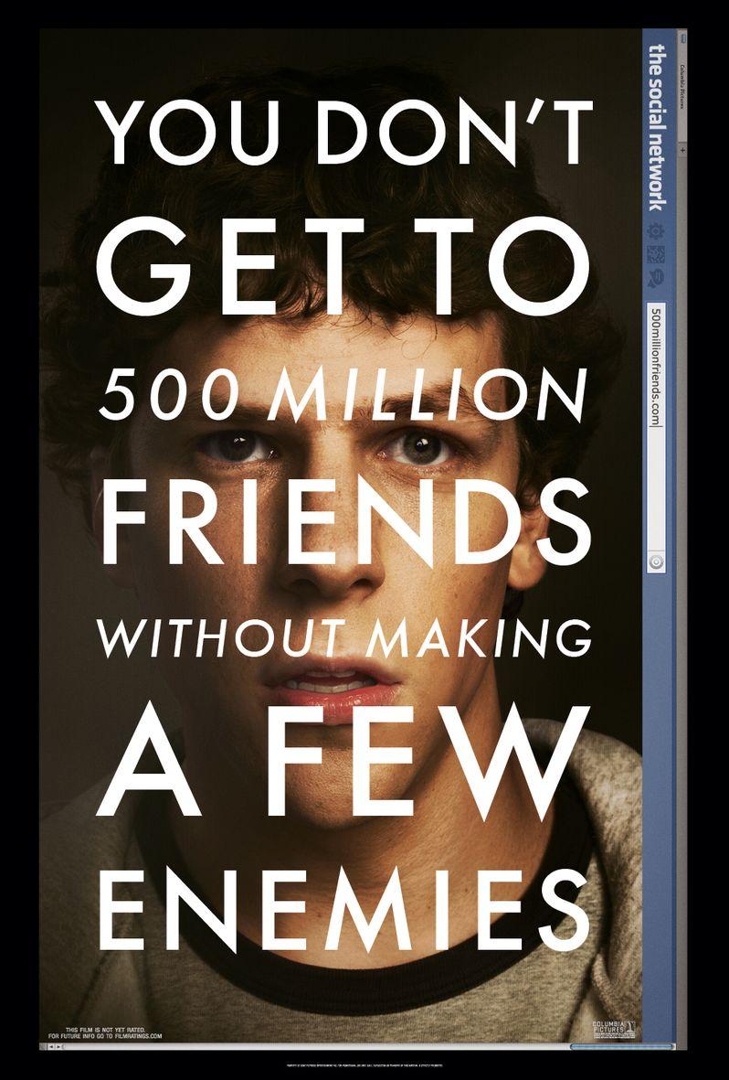 <strong><em>The Social Network</em></strong> Poster