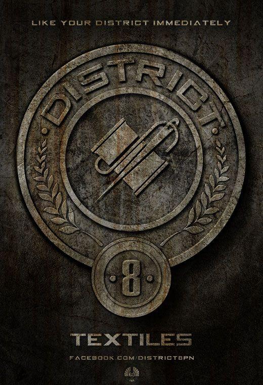 <strong><em>The Hunger Games</em></strong> District 8 Poster