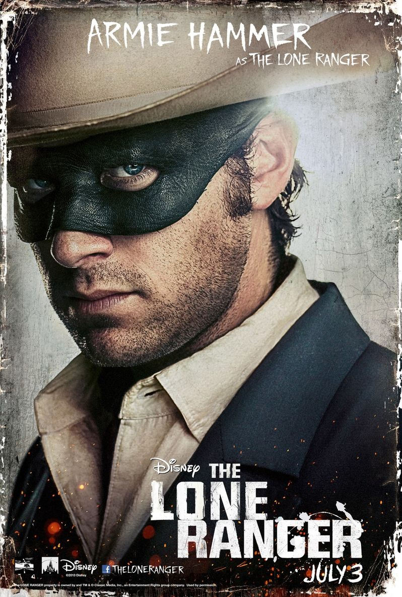 <strong><em>The Lone Ranger</em></strong> Character Poster