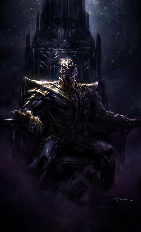 Thanos Concept Art <strong><em>Marvel's The Avengers</em></strong> 1