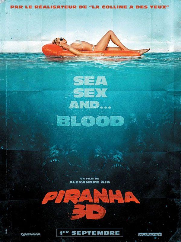 <strong><em>Piranha 3D</em></strong> French Poster