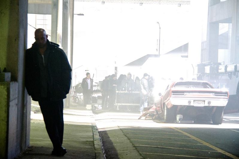 Fast & <strong><em>Furious 7</em></strong> Set Photo 4