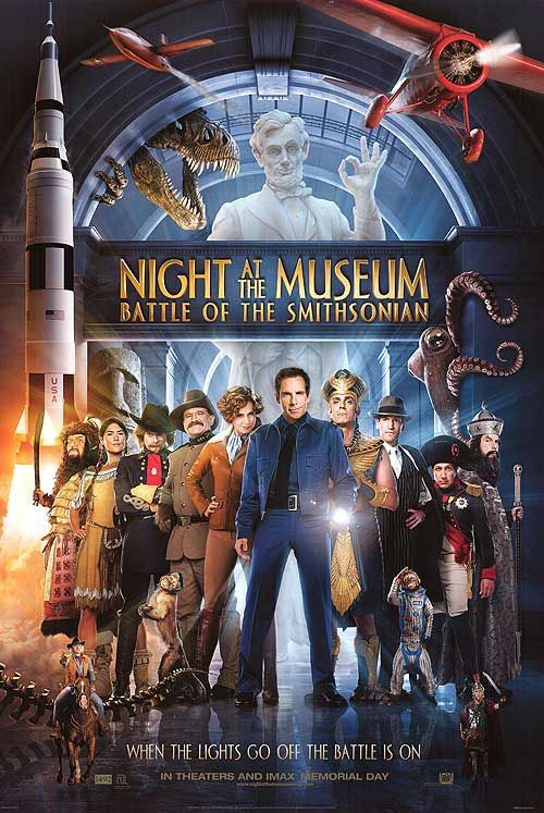 <strong><em>Night at the Museum: Battle of the Smithsonian</em></strong> Poster