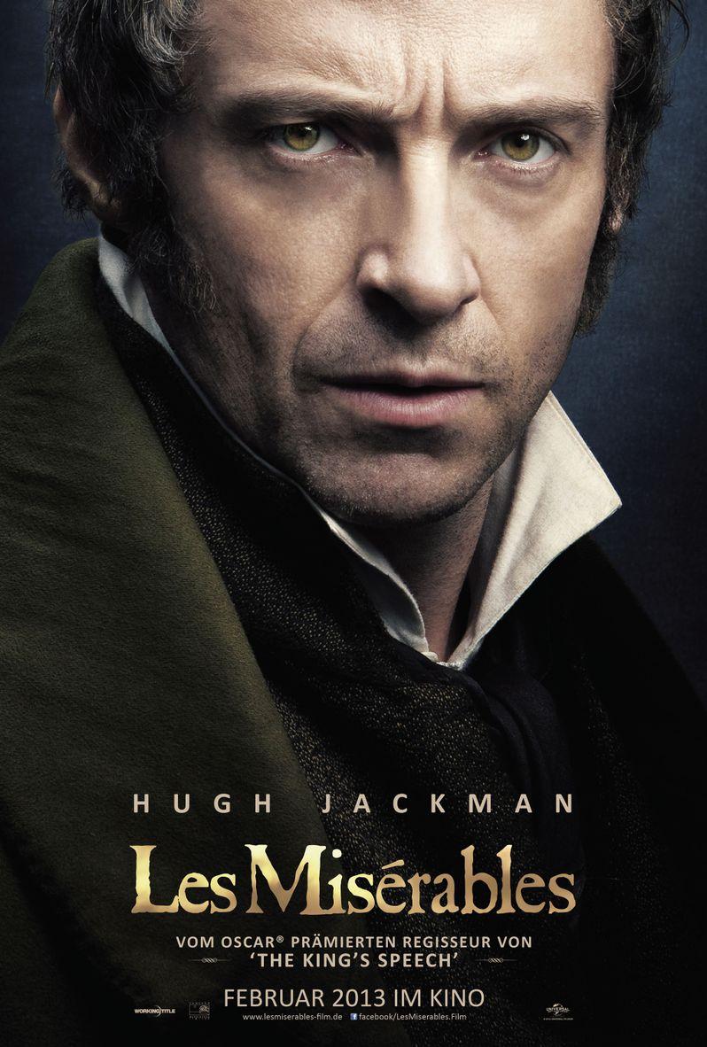 <strong><em>Les Miserables</em></strong> Hugh Jackman Poster