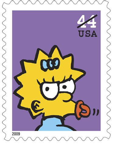 <strong><em>The Simpsons</em></strong> Postage Stamps #4