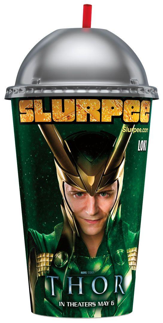 <strong><em>Thor</em></strong> Slurpee Photos #4