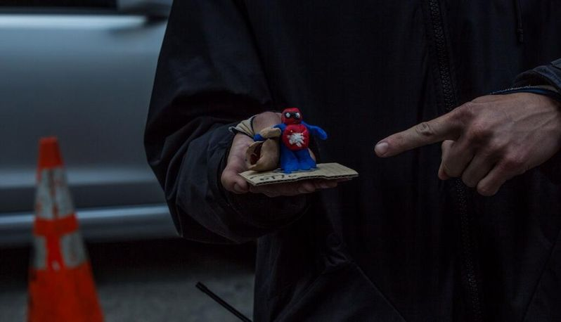 <strong><em>The Amazing Spider-Man 2</em></strong> Day 74 Photo