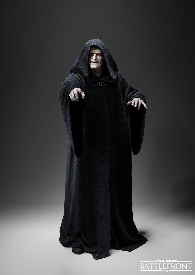 Star Wars Battlefront Emperor Palpatine Photo