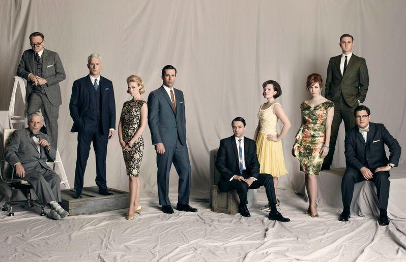 The Cast of <strong><em>Mad Men</em></strong> Season 4