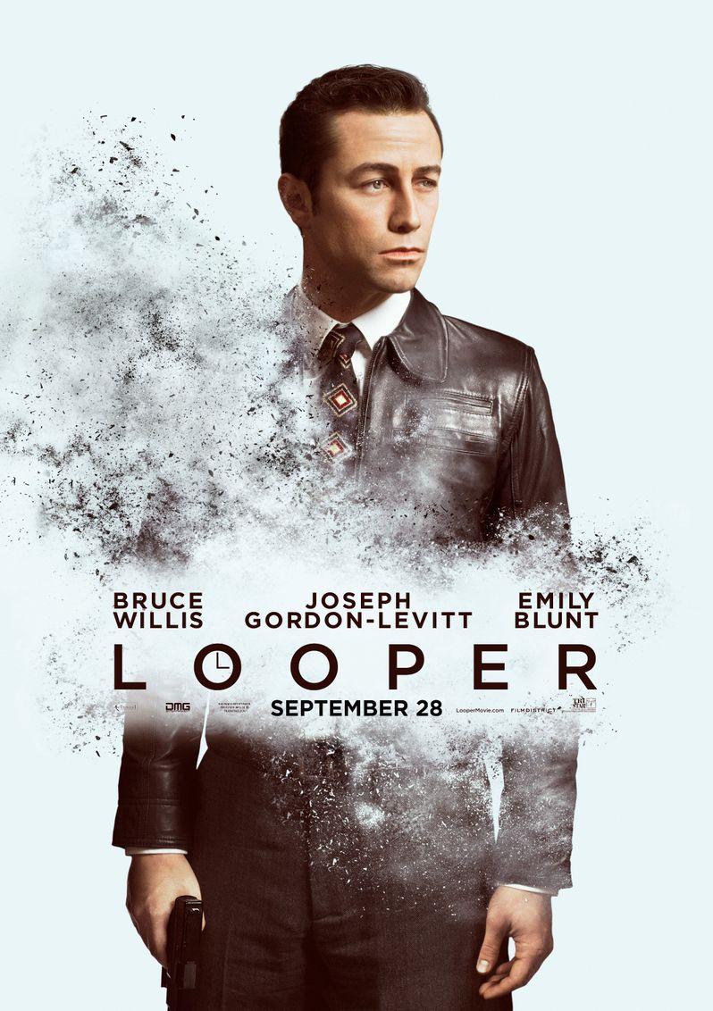 <strong><em>Looper</em></strong> Joseph Gordon-Levitt Character Poster