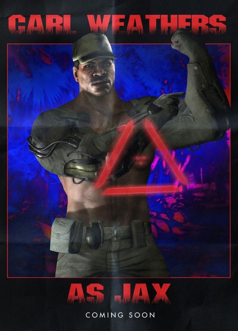 <strong><em>Predator</em></strong> Mortal Kombat X Poster 2